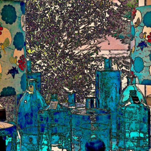 Vasos, botellas y cristales 8