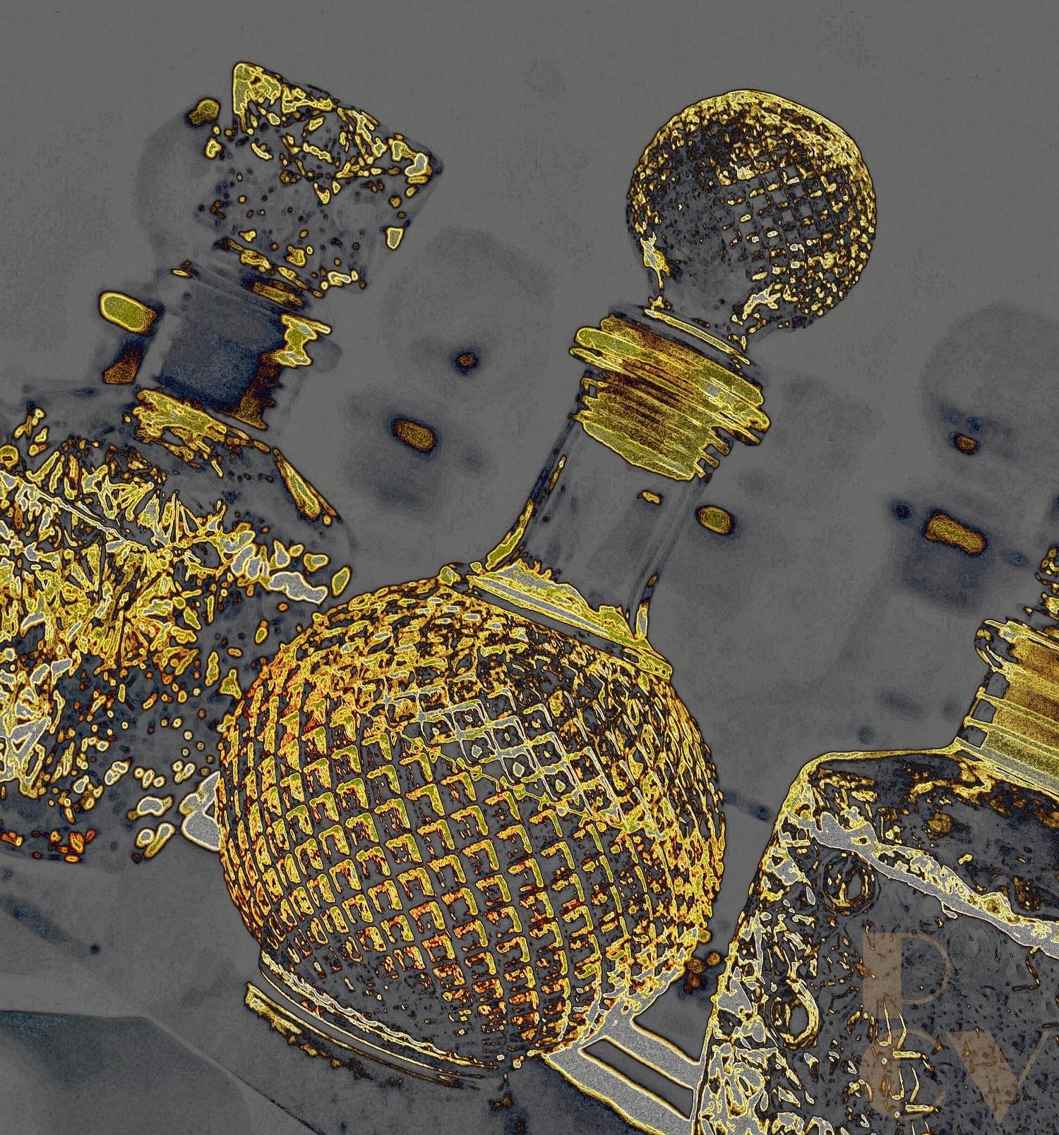 Vasos, botellas y cristales 10